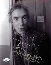 John Lydon Johnny Rotten Signed SEX PISTOLS 8x10 Photo EXACT Proof JSA A