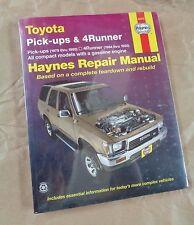 Manuale - HAYNES Manual 92075   : Toyota Pickup 4RUNNER 1979 - 1995