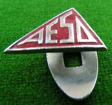 More details for aesd ass'n of engineering & shipbuilding draftsmen v rare red trade union badge