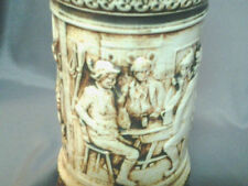 Beer Stein-German-Gerz mfg between 1949 and 1990 with 3 different scenes