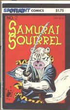 Samurai Squirrel 1986 series # 2 very good comic book