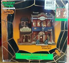 LEMAX DRAGON'S BREATH COSTUME SHOP SPOOKY TOWN COLLECTION 2000