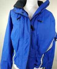 Marker Womens Size 8 Ski Snowboarding Jacket with Hood Blue Parka  -wh2