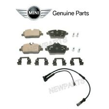 For Mini F56 F55 F57 Cooper Set of Front Disc Brake Pad & Sensors Genuine
