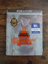 A Clockwork Orange 4K UHD Steelbook (4K Ultra HD + Blu Ray) Sealed Ready to Ship