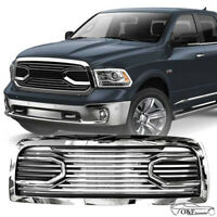 For 10 17 Dodge RAM 2500 3500 Big Horn Front Hood Chrome Replacement Grille