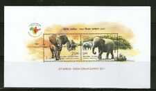 INDIA : SOUV. SHEET ON 2nd AFRICA-INDIA FORUM SUMMIT-2011,MNH, # 37