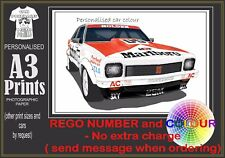 79 A9X BROCK TORANA  A3 ORIGINAL PERSONALISED PRINT POSTER CLASSIC RETRO CAR