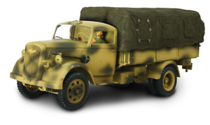 Forces of Valor - GERMAN 3 TON CARGO TRUCK Green/ Brown 1:32 80061