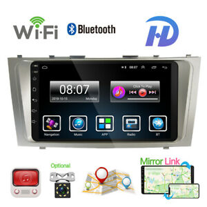 """9""""Car Stereo Android10.1 Auto Radio GPS Navi Head Unit Fit Toyota Camry2008-2011"""