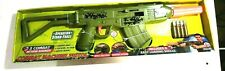 Retro Machine Pistol, Green Combat Action Sounds Toy Gun ejecting shells cocking