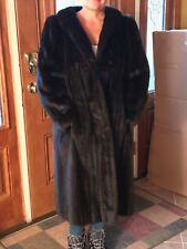 VTG River Otter Fur Woman's Jacket Coat Jacket Size Small