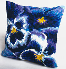 Collection D'Art - Cross Stitch Cushion Front Kit - Winter - Flowers - CD5099
