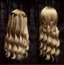Soft Golden Hair Training Head Professional Styling Head Nice Mannequin Head