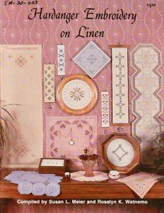 Hardander Embroidery on Linen - Meier &Watnemo