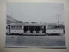 "OZ167 8½"" x 6½"" BRISBANE CITY TRAMWAYS - TRAM No222 OFFICIAL PHOTO Australia"