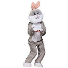 2020 Cute Rabbit Animal Unisex  Mascot Costume Suit Cosplay Dress Outfit Adult