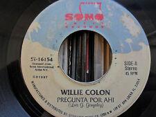 Latin Salsa 45 - Willie Colon - Pregunta Por Ahi / Especial No. 5 - SonoTone VG