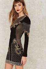 Nasty Gal Collection Love Will Never Do Embellished dress medium new with tags