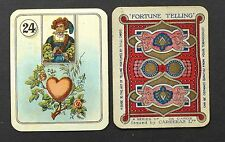 Antique 1920's Carrera's Lenormand Fortune Telling Cards Oracle Deck