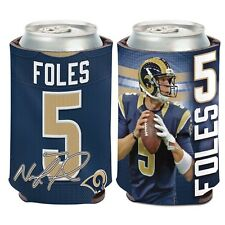 St Louis Rams Wincraft #5 Nick Foles 12oz Can Coolie Free Ship