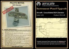 Airscale 1/32 Consolidated B24 Liberator Instrument Panel Upgrade # ASPE32B24