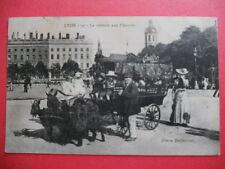 LYON  :  La Voiture aux Chèvres.......VO.1907.