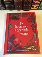 The Adventures of Sherlock Holmes by Arthur Conan Doyle - leather-bound
