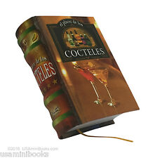 "El Placer de los Cocteles new collectible small 2.65"" tall book easy to read"