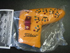 Scotty Cameron 2002 Mini Crowns YELLOW Pivot Tool BLADE Putter Cover Titleist