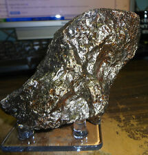 1750 gm .NEW CAMPO DEL CIELO METEORITE ; GREAT QUALITY; 3.9  pounds.BEAUTIFUL