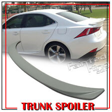 Painted For LEXUS F Type IS250 IS350 IS300h IS250 F Rear Trunk Spoiler 13-17