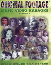 Karaoke Original Footage vol-5 DVD Music and Video 20 Great songs