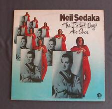 """Vinilo LP 12"""" 33 rpm NEIL SEDAKA - THE TRA-LA DAYS ARE OVER"""