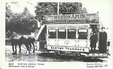 Tram Postcard - Devon - Exeter Horse Tram    2356