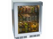"""Perlick 24"""" Signature Series Indoor SS Glass Door Refrigerator #HP24RS-3-3R"""