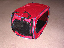 Pet Carrier, Cat or Small Dog, Up to 30 lbs. Reduced 16%