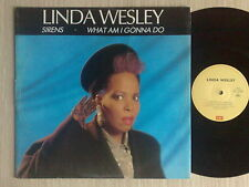 "LINDA WESLEY - SIRENS / WHAT AM I GONNA DO - MAXI-SINGLE 12"" ITALY"