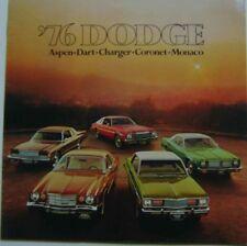 DODGE ASPEN Caricabatterie Dart Coronet MONACO 1976 ORIGINALE CHRYSLER USA opuscolo