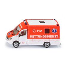 "Siku 2108 Mercedes Sprinter ""Ambulance"" peinture néon/blanc échelle 1:50 !°"