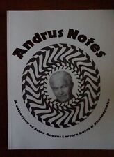 The Andrus Notes, A Collection of Jerry Andrus Lecture Notes & Photographs