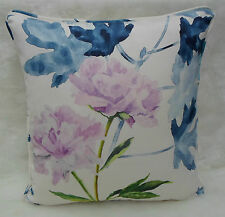 Designers Guild Fabric Cushion Cover~ 'Mokuren' Indigo Col ~ Kaori Fabrics #