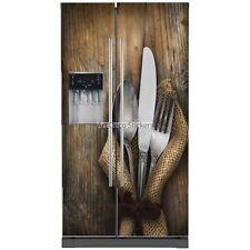 Stickers frigo américain Cuisine couverts 5790 5790