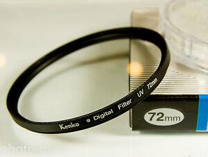 Kenko 72mm UV Digital Filter Lens Protection for 72mm filter thread - UK Stock