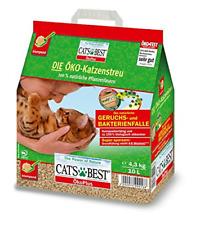 Cat's Best Öko Plus Katzenstreu 10 Liter Klumpstreu Ökologisch Pflanzenfasern