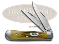 CASE XX Genuine Deer Stag Tiny Trapper Stainless Pocket Knife Knives