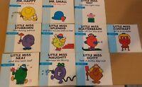 Little Miss Books &  Mr Men x 10 Daily Mirror Special Edition  Bundle