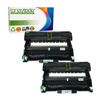 2pk DR420 DR-420 Drum Unit ONLY For Brother MFC-7240 MFC-7460DN MFC-7860DW tn450