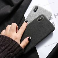 Textile Cloth Phone Case For iPhone 11 Pro Max X XS Max XR 7 8 Plus SE