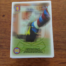 Aston Villa FC Fans Selection Trading Cards 1998, Full Base Set 90 Cards M-NM
